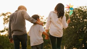 A family walks together. This reflects instances covered in family counseling in Boulder, CO. Our practice offers many options for therapy in Boulder, CO. We also provide anxiety treatment in Boulder, CO.